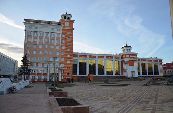 библиотека им. А.С. Пушкина в Саранске